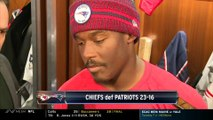 Phillip Dorsett addresses media following Patriots-Chiefs