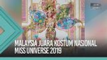 Malaysia juara Kostum Nasional Miss Universe 2019