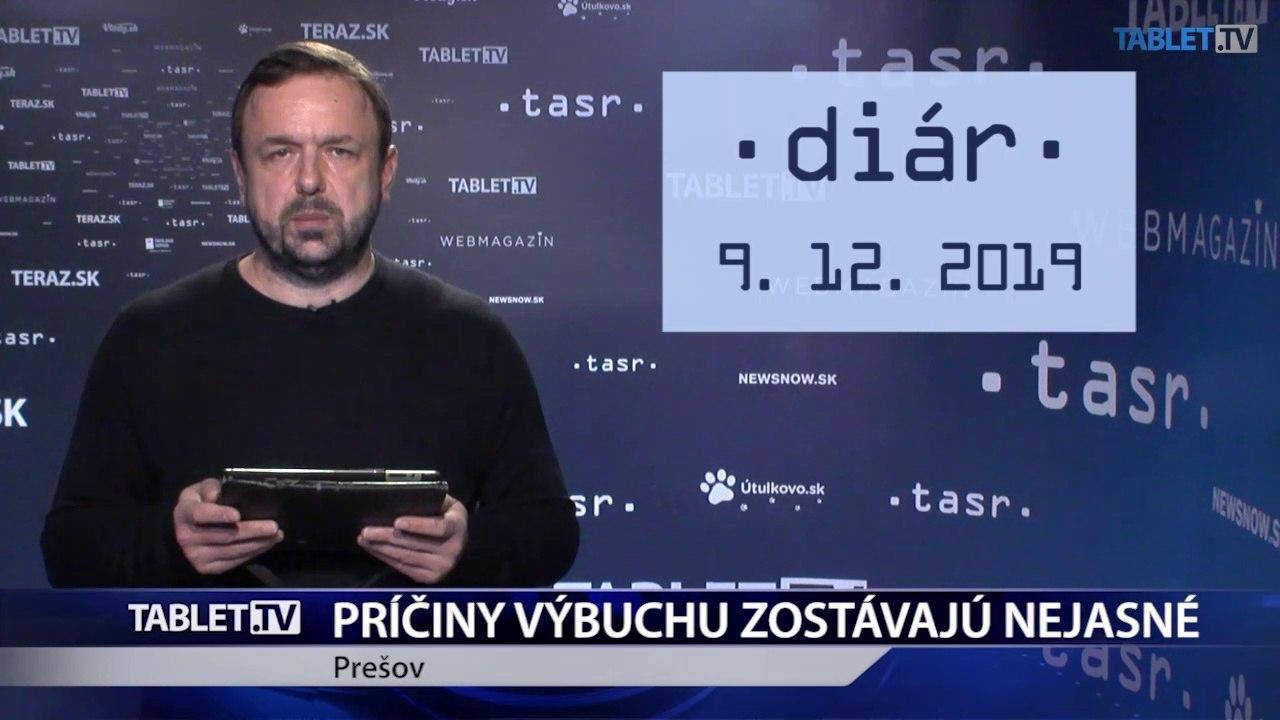 DIÁR: Príčiny výbuchu v Prešove ostávajú stále nejasné