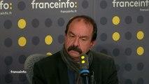 """Lien non déclaré de Jean-Paul Delevoye avec le monde de l'assurance : """"C'est gênant"""", réagit Philippe Martinez, leader de la CGT"""