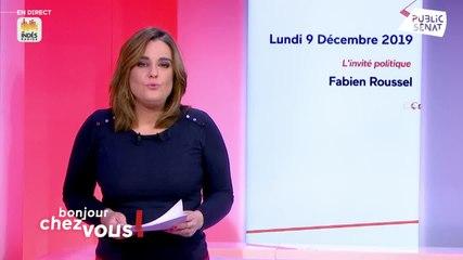Fabien Roussel - Public Sénat lundi 9 décembre 2019