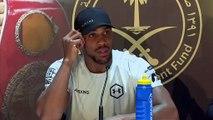 'I belong here' Joshua reclaims heavyweight title