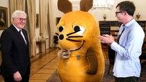 Almanya Cumhurbaşkanı Steinmeier, fareye liyakat nişanı