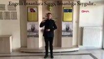 Gaziantep-sosyal hizmet çalışanları farkındalık için klip çektiler