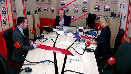 Nicolas Bay - Sud Radio lundi 9 décembre 2019