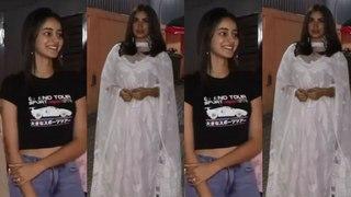 Spotted Ananya Panday and Bhumi Pednekar At Juhu PVR