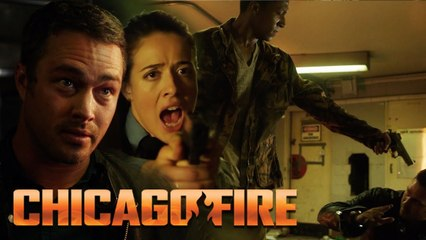 Severide In A Subway Stick Up | Chicago Fire