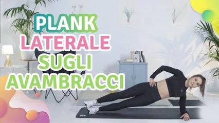 Plank laterale sugli avambracci - Vivere più Sani