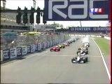 Formule 1- Grand prix Grande Bretagne - 1999 - départ