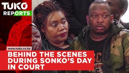 Behind the scenes during Sonko's day in court | Tuko TV