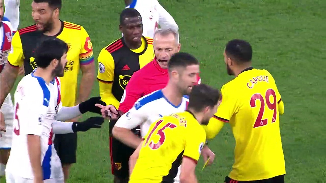 Watford - Crystal Palace (0-0) - Maç Özeti - Premier League 2019/20