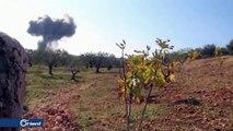 ناشطون يطلقون هاشتاغ #إدلب_تحت_النار بعد مجازر الاحتلال الروسي ونظام أسد في إدلب