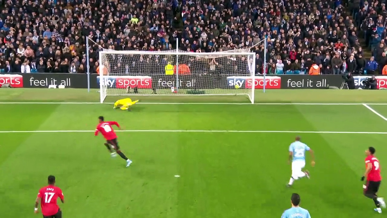 Manchester City - Manchester United (1-2) - Maç Özeti - Premier League 2019/20