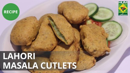 Lahori Masala Cutlets | Flame On Hai | Masala TV Show | Irfan Wasti