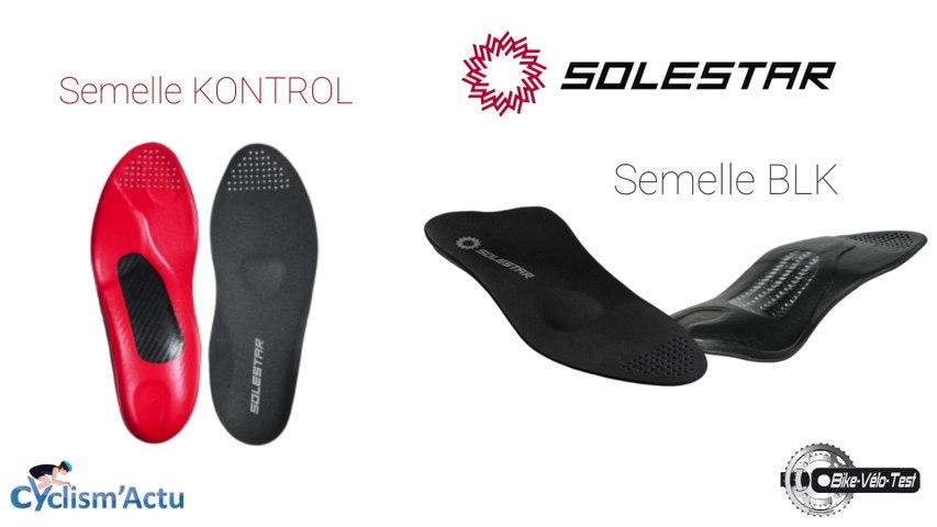 Bike Vélo Test - Cyclism'Actu a testé les semelles Solestar