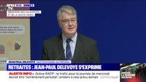 """Jean-Paul Delevoye sur la réforme des retraites: il y a une demande """"d'équité mais aussi de solidarité"""""""