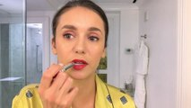 Nina Dobrev Does Her Day-To-Night BeautyRoutine