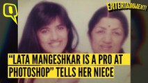 EXCLUSIVE: Photoshop, Shopping - Lata Mangeshkar's Keeping Busy After Hospital
