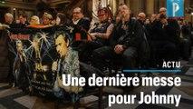 Johnny Hallyday: la dernière messe mensuelle à la Madeleine