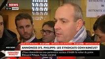 """Retraites : Pour Laurent Berger, le secrétaire général de la CFDT, """"la ligne rouge est franchie"""" - VIDEO"""