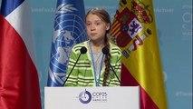 Greta Thunberg acusa países ricos de enganação