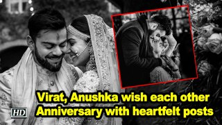 Virat, Anushka wish each other Anniversary with heartfelt posts