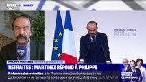 """Après les annonces d'Édouard Philippe, Philippe Martinez (CGT) appelle l'ensemble des salariés à """"amplifier le mouvement de grève"""""""