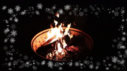 Christmas Music by the Fire