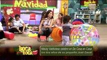 Maluly Valdivieso celebró en De Casa en Casa los dos años de su pequeño José David