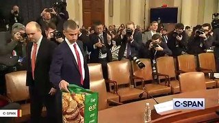 GOP Lawyer Steve Castor's Reusable Grocery Bag At Impeachment Hearing Goes Viral