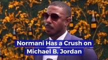 Normani Has a Crush on Michael B. Jordan