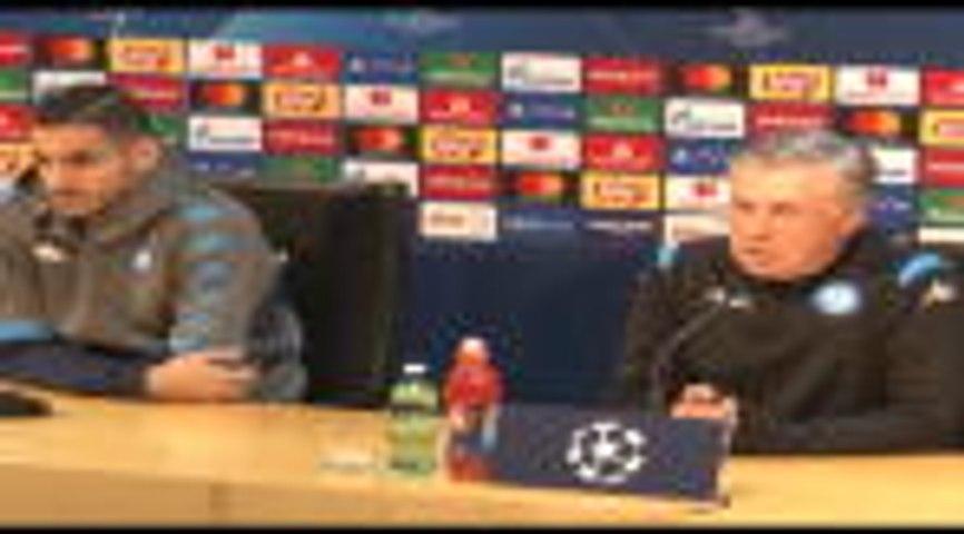 """Naples - Ancelotti : """"Je n'ai pas peur d'être viré"""""""