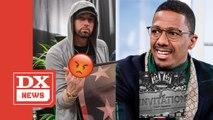 Nick Cannon Calls Out Kim, Hailie & Alaina On Suge Knight-Led Eminem Diss Track 'The Invitation'