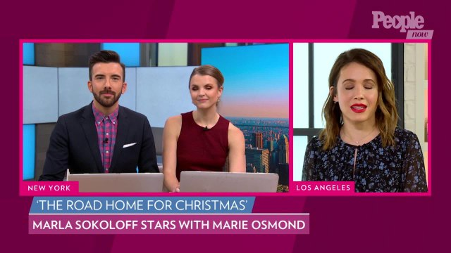 'Road Home for Christmas' Marla Sokoloff Says It Was 'Nerve Wracking' Singing in Front of Marie Osmond