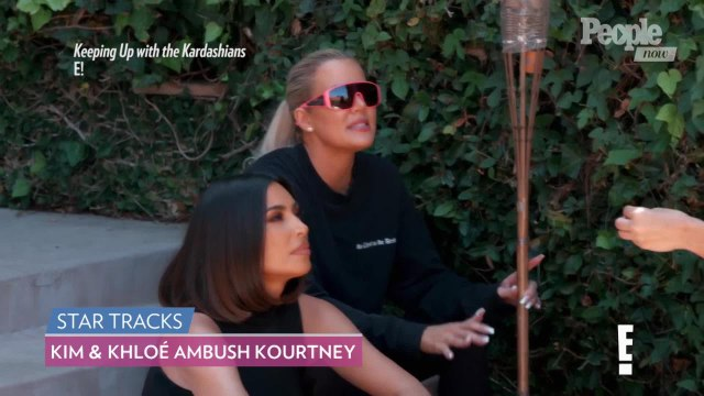 Kim & Khloé Accuse Kourtney Kardashian of Not Being 'Open About Her Personal Life' on 'KUWTK'