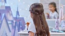 La Reine des Neiges 2 Film - Tuto - La coiffure d'Anna