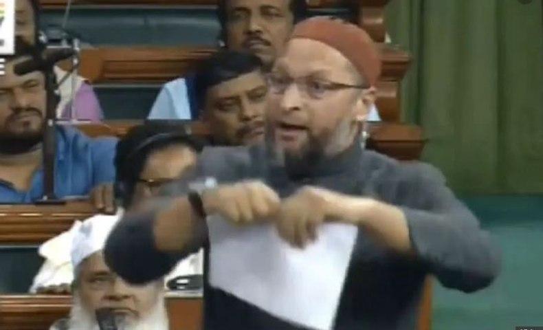 Asaduddin Owaisi tears up copy of CAB in Lok Sabha | OneIndia News