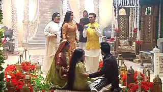 Bahu Begam Nikah sequence Shyra hits Azan with a stick on is head to get the chip out