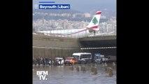 Les images de Beyrouth sous les eaux après de fortes pluies