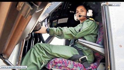 बिहार की बेटी शिवांगी ने छुआ आसमान, नेवी की पहली महिला पायलट बनीं