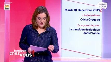 Olivia Grégoire - Bonjour chez vous ! Mardi 10 décembre