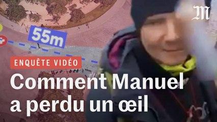 Enquête : comment le « gilet jaune » Manuel a perdu un œil lors d'une manifestation à Paris