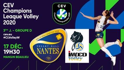 Le plus beau volley du monde !  [Evénement : VB Nantes / Imoco Conegliano