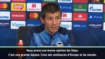 """Groupe H - Celades : """"L'Ajax est l'une des meilleures équipes d'Europe"""""""