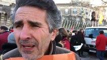 Manifestation contre la réforme des retraites à Avignon