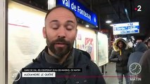 Grève contre la réforme des retraites : au départ du premier RER dans le Val-de-Marne