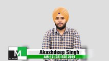 Face to Face with Akash Deep Singh (CE) AIR-12 ESE-IES 2019 IES Master