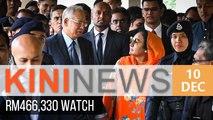 Najib spent almost RM500k on a watch for Rosmah | Kini News - 10 Dec