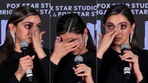 UNCUT - Deepika breaks down at Chhapaak Trailer Launch