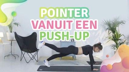 Pointer vanuit een push-up -  Gezonder leven